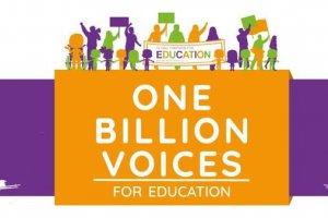 «Збільшення та покращення фінансування освіти» – глобальний тиждень дій в інтересах освіти